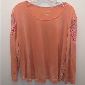 Blair peach color blouse